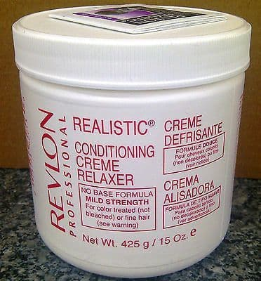 Revlon Realistic Conditioning Creme No Base Relaxer - Mild or Regular or Super